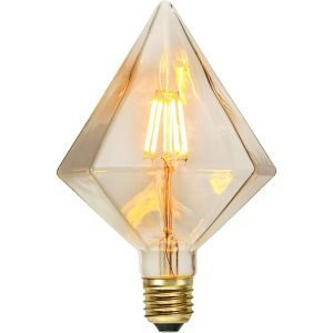 Star Trading Led Hehkulamppu E27 Soft Glow Dimmable Transparent