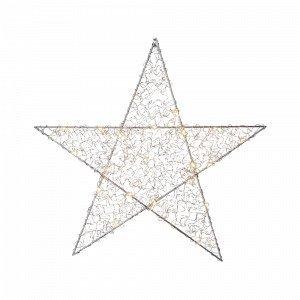 Star Trading Loop Valotähti Hopea 47 Cm