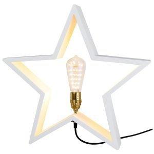 Star Trading Lysekil Tähti E27 Valkoinen