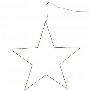 Star Trading Mira Valotähti Musta 70 Cm