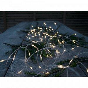Star Trading Outdoor Dew Drop Valoköynnös 20 Metriä Hopea
