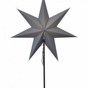 Star Trading Ozen Valotähti Jalallinen Harmaa