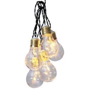 Star Trading Party Light Valoketju 5 Lamppua