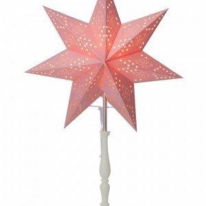 Star Trading Romantic Valotähti Jalallinen Roosa