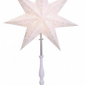 Star Trading Romantic Valotähti Jalallinen Valkoinen