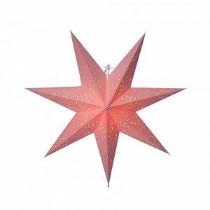 Star Trading Romantic Valotähti Roosa 54 Cm