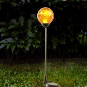 Star Trading Solc Gång Glas Amber Aurinkokennovalaisin Oranssi