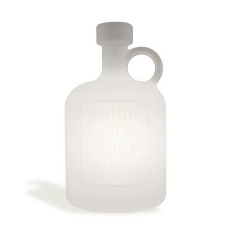 Studio Eero Aarnio Bottle Of Light Valaisin Valkoinen