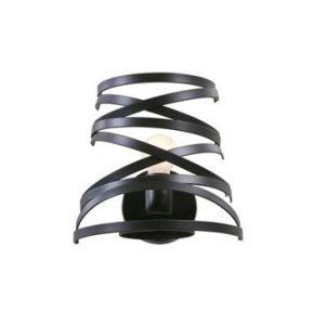 Studio Italia Design Curl My Light Seinävalaisin Musta