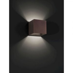 Studio Italia Design Laser Ap9 Seinävalaisin Pronssi