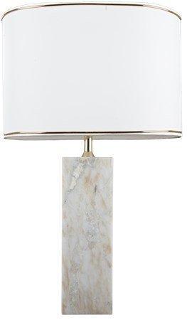 Svensk Marmor Lampunjalka Valkoinen Marmori Sis. Johto 9x90 K: 30 cm