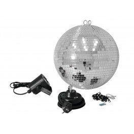 Täydellinen discopallosetti LED-spottivalolla