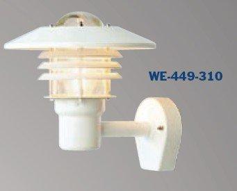 Tellus seinälyhty WE-449-310 VA/KI 75W IP44 E27