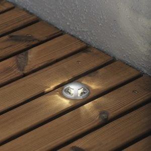 Terassivalaisinsarja 7659-000 LED-spotti 6 kpl + muuntaja