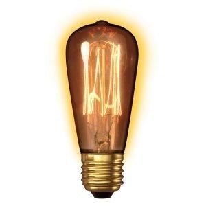 Texa Design Goldline Hehkulamppu Rustiikki E27 40w S