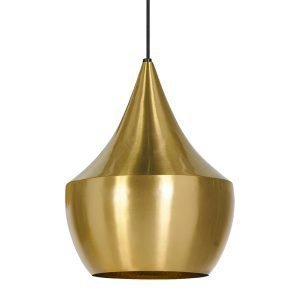 Tom Dixon Beat Light Fat Valaisin Messinki