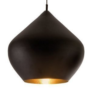 Tom Dixon Beat Light Stout Valaisin Musta
