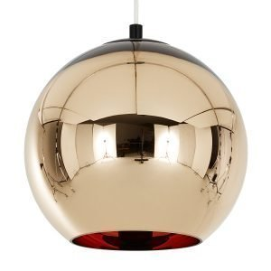 Tom Dixon Bronze Copper Riippuvalaisin 45 Cm