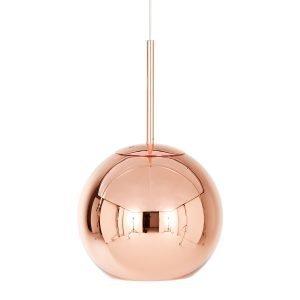 Tom Dixon Copper Round Kattovalaisin Kupari 25 Cm