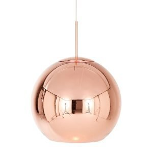 Tom Dixon Copper Round Kattovalaisin Kupari 45 Cm