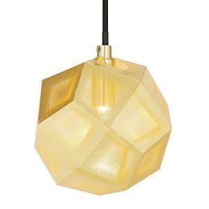 Tom Dixon Etch Mini Kattovalaisin Messinki