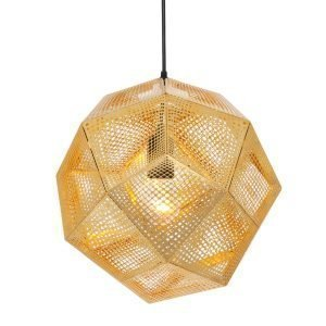 Tom Dixon Etch Shade Kattovalaisin Messinki