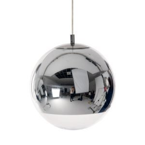 Tom Dixon Mirror Ball Kattovalaisin Kromi 25 Cm