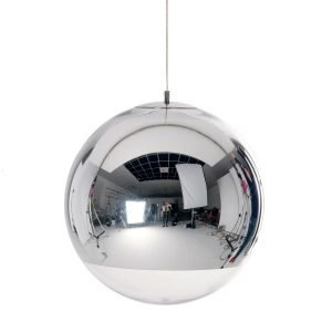 Tom Dixon Mirror Ball Kattovalaisin Kromi 50 Cm