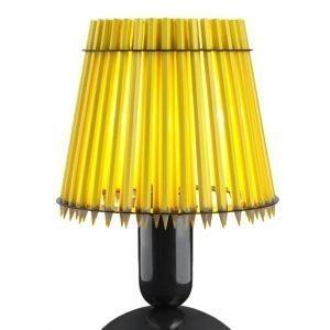 Tom Rossau Pencil Pöytävalaisin Keltainen / Musta