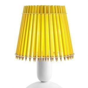 Tom Rossau Pencil Pöytävalaisin Keltainen / Valkoinen