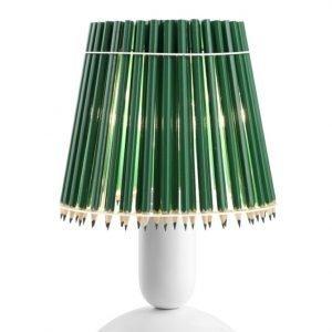 Tom Rossau Pencil Pöytävalaisin Vihreä / Valkoinen