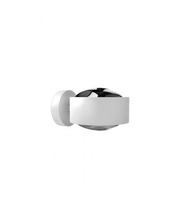 Top Light Puk Maxx Led Seinävalaisin Lens + Lens Valkoinen