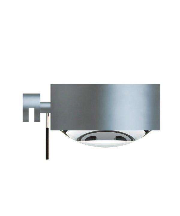 Top Light Puk Maxx Mirror Fix Seinävalaisin Halogeeni Matta Kromi