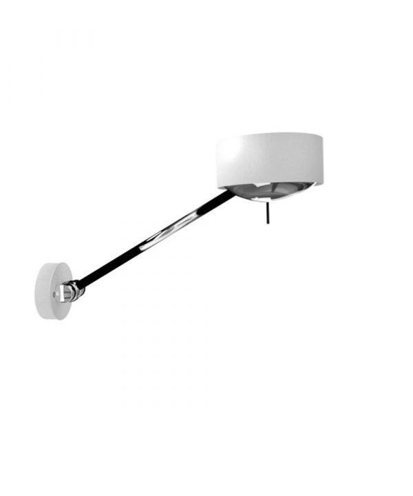 Top Light Puk Maxx Wing Single Seinävalaisin Valkoinen