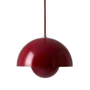 &Tradition Flowerpot Vp1 Riippuvalaisin Tummanpunainen