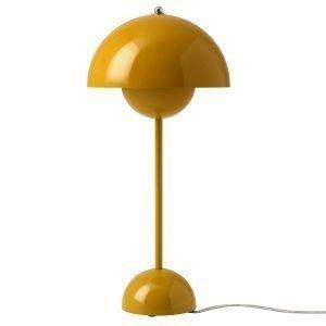 &Tradition Flowerpot Vp3 Pöytävalaisin Mustard