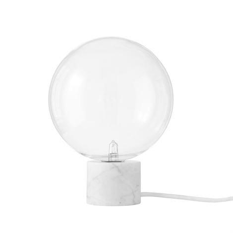 &Tradition Marble Light Pöytävalaisin Sv6 Valkoinen Carraramarmori