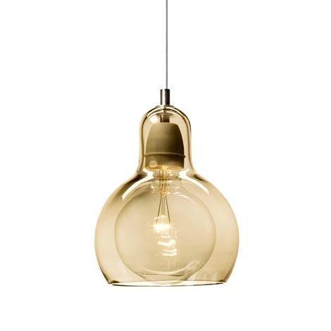 &Tradition Mega Bulb Guld Valaisin Kulta-Lasi