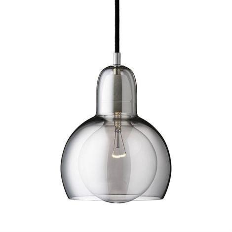 &Tradition Mega Bulb Silver Valaisin Hopea-Lasi