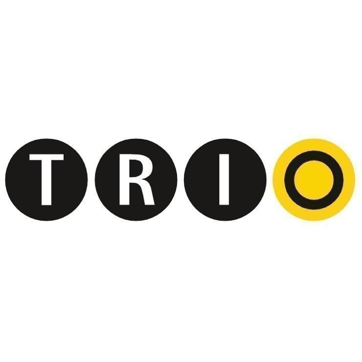 Trio 4-os Spotti GU 10 valkoinen neliö