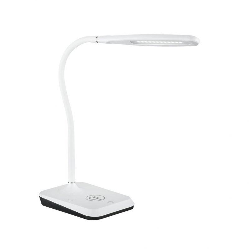 Trio Charger pöytävalaisin LED 5 W valkoinen