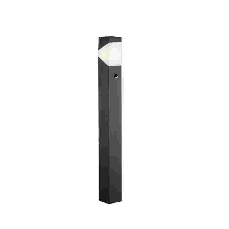 Trio LED pylväs Rio 1xE14 4W 310 lm 100 cm liiketunnistin musta