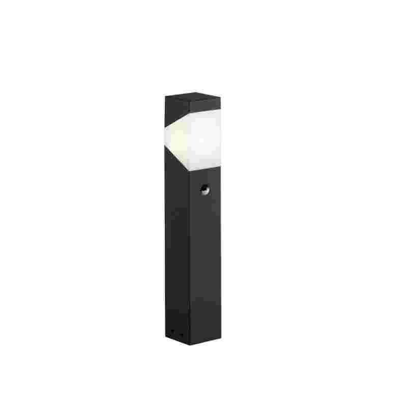 Trio LED pylväs Rio 1xE14 4W 310 lm 50 cm liiketunnistin musta