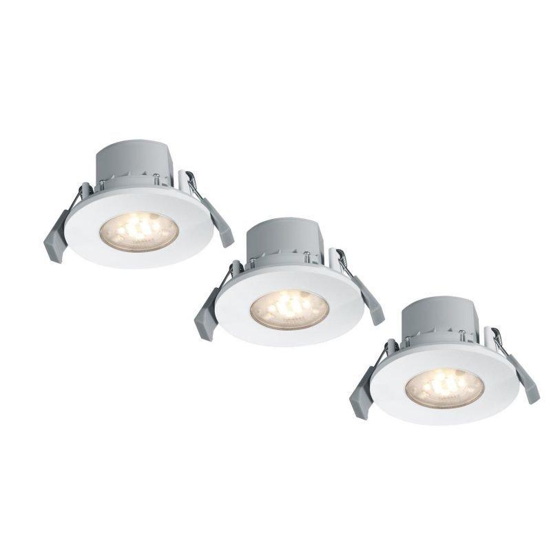 Trio Upotettava LED RGB 6