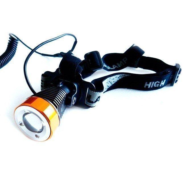 Trustfire 3868 H6 Ladattava Otsalamppu 400 Lumenia