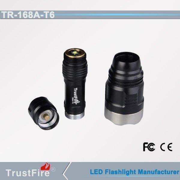 Trustfire T68A-T6 taskulamppu 1000 Lumenia