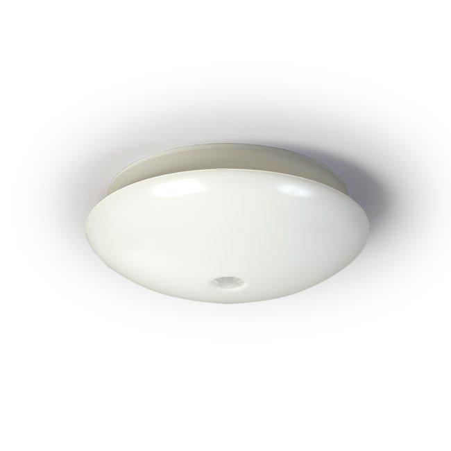 Tunnistinvalaisin AVR320.2184E 2x18W TC-DE/G24q-2 PIR Ø320x111 mm valkoinen