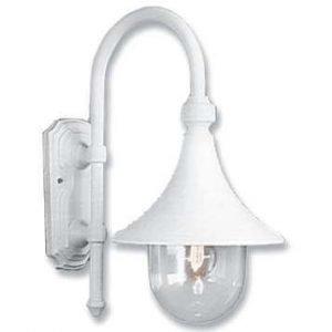Ulkovalaisin Trumpetti lyhty PL-2033-2 valkoinen 75W IP43 E27