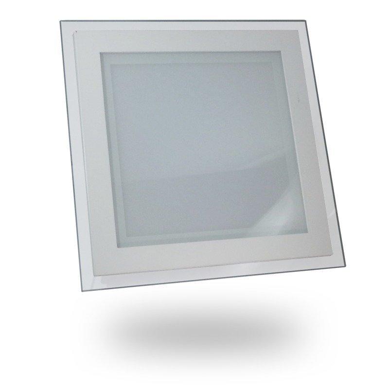 Upotettava LED-valaisin V-TAC VT-1881G SQ 18W 230V 3000K 1260lm IP20 valkoinen