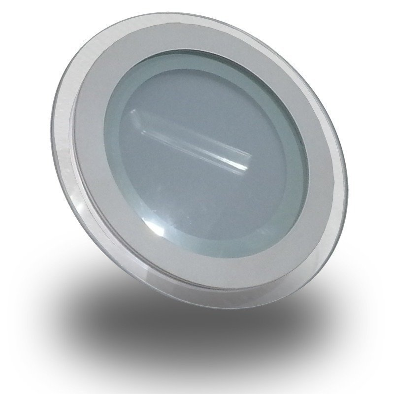 Upotettava LED-valaisin V-TAC VT-602G RD 6W 230V 3000K 420lm IP20 Ø 100mm valkoinen